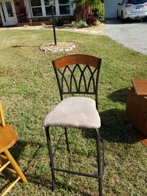Metal bar stool for Sale in Lake Wales, FL