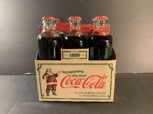 COCA-COLA 1899 Limited-Edition Glass-Bottle Six-Pack Replica for Sale in Dade City, FL