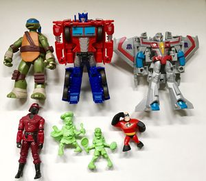 Modern toy lot Transformers TMNT GI Joe for Sale in Covina, CA