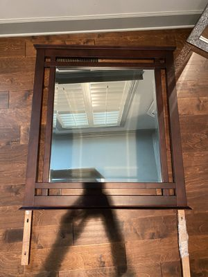 Large wood framed mirror for Sale in Franklin, TN
