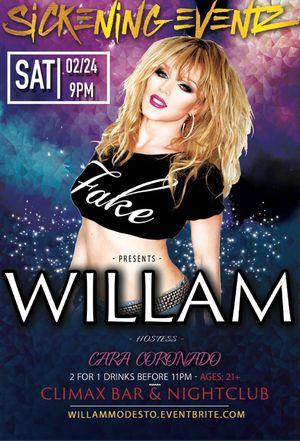Willam live in Modesto! for Sale in Modesto, CA