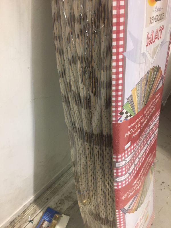 Brown Rv area outdoor mat
