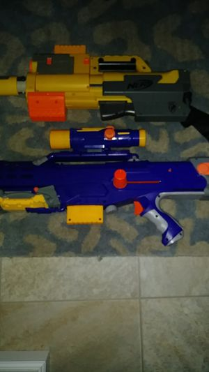 2 nerf guns for Sale in Apple Valley, MN