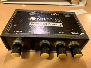 Acoustic guitar preamp and polyphonic tuner for Sale in San Antonio, TX