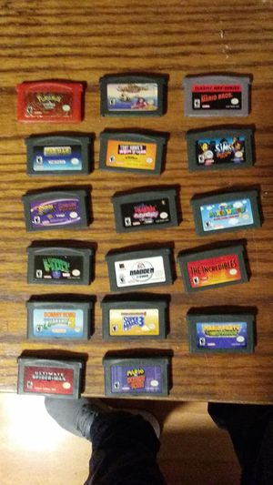 Game boy collection of games 17 games. for Sale in San Leandro, CA