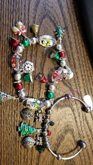 2 Christmas charm bracelets for Sale in Ravensdale, WA
