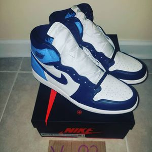Jordan 1 Obsedian's for Sale in Chicago, IL