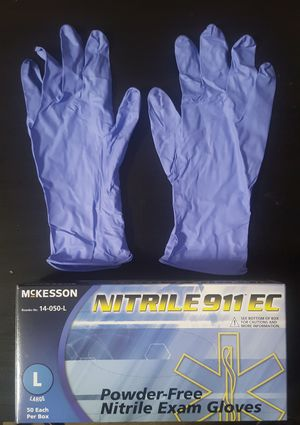 Thick 8 Mil Nitrile Gloves -> Heavy Duty | No Powder | Medium and Large Only 🚨 for Sale in Los Angeles, CA