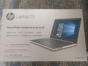 Brand new in the box, never opened hp laptop 15-db0031nr for Sale in Redondo Beach, CA