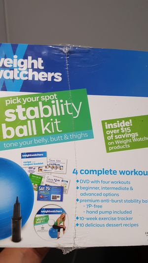 Stability ball kit for Sale in Peoria, AZ