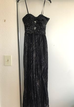 Black sparkle strapless prom dress for Sale in Pittsburg, CA