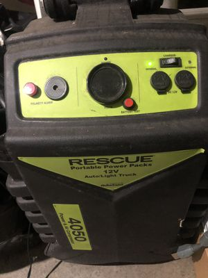 Rescue 4050 portable power pack & compressor for Sale in Lynnwood, WA