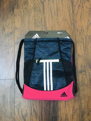 Adidas Alliance 2 Sackpack. for Sale in Plainfield, IL