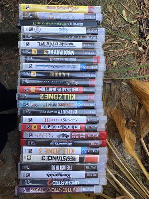 PS3 games / 25 games / control / move control for Sale in Livonia, MI
