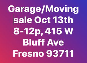 Moving Sale! Everything must go- for Sale in Fresno, CA
