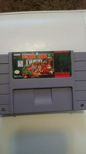 Donkey Kong.. Super Nintendo for Sale in Sandy, UT