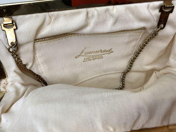 Vintage sequin clutch