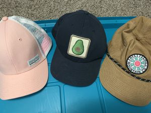 Patagonia Hat, Mollusk Hat, and Fayettechill Hat for Sale in Lakewood, CO
