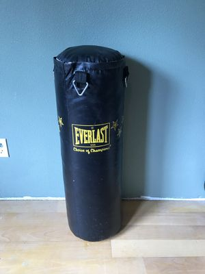 Everlast Punching Bag for Sale in Aberdeen, WA