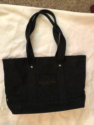 Coach purse tote black for Sale in Alexandria, VA