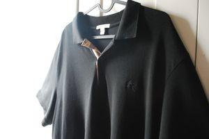 BURBERRY Brit - black Polo shirt for Sale in San Lorenzo, CA