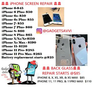 iPhone Screen for Sale in Austell, GA
