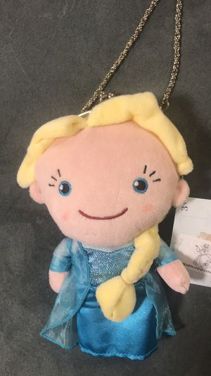 NEW Disney Store Frozen Elsa Plush Doll Coin Purse Hand Bag for Sale in Pomona, NY