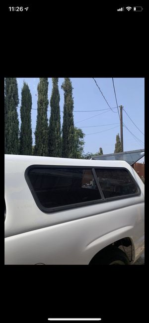 Truck bed top/ camper shell for Sale in Rancho Cucamonga, CA