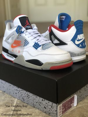"""Air Jordan """"What The"""" 4's-Size 11 for Sale in Greensboro, NC"""