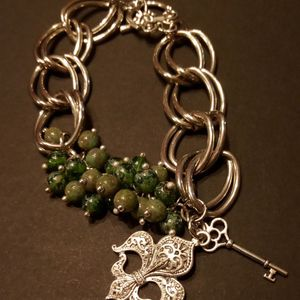 Custom Fleur De Lis Toggle Bracelet for Sale in Duncanville, TX