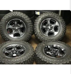 "17"" Jeep Gladiator 2020 RUBICON OEM wheels rims tires Wrangler 2018 2019 NEW for Sale in Long Beach, CA"
