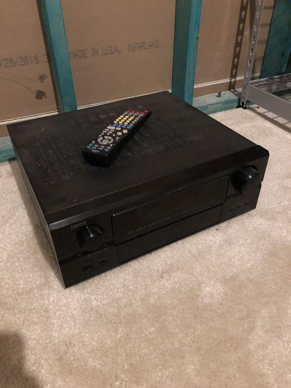 Denon AVR-2807 surround sound receiver
