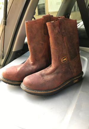 Brown cebu work boot for Sale in Angier, NC