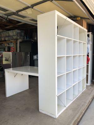 IKEA - storage with desk attachment for Sale in Tustin, CA
