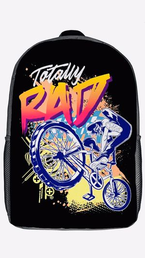 Totally Rad BMX Daypack Fits 17 Inch Laptop for Sale in Las Vegas, NV