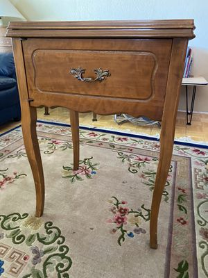 Vintage sewing cabinet solid wood for Sale in Albuquerque, NM
