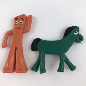 """Gumby and Pokey 2"""" tall made of rubber for Sale in Newport Beach, CA"""