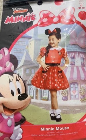 Halloween Costume - Minnie Mouse, Toddler Girl, Size 3T - 4T for Sale in Pleasanton, CA