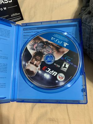 UFC 3 Ps4 for Sale in Mesquite, TX