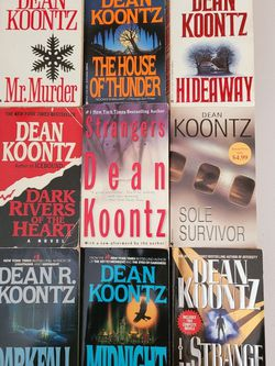 Dean Koontz Paperback Books for Sale in Cape Coral,  FL