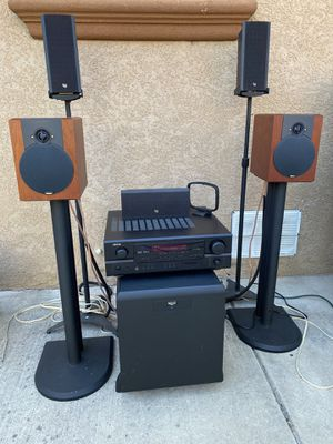 Home theater stereo system-sounds excellent for Sale in San Lorenzo, CA