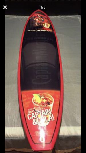 Captain Morgan promotional Surfboard for Sale in Fresno, CA