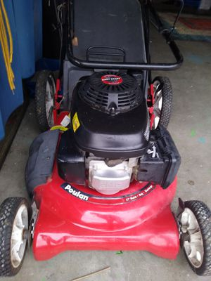 """Poulan mower P to 21"""" cut push lawn mower with 6.5 hp Easy Start Honda engine. Works great and starts on first pull every time. J for Sale in Everett, WA"""