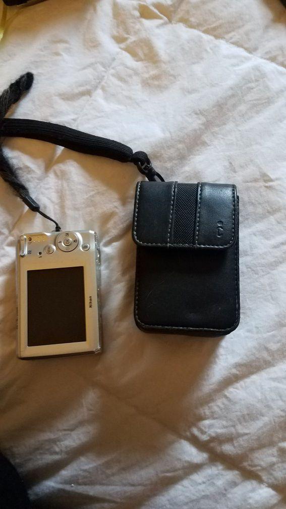 Digital camera with case