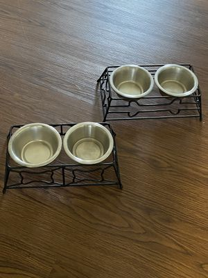 Small doggie bowls for Sale in Fort Campbell, KY