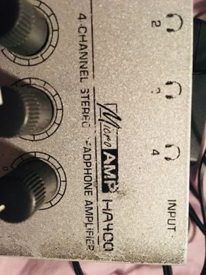 Behinger HA400 headphone amplifier for Sale in Columbia, MO