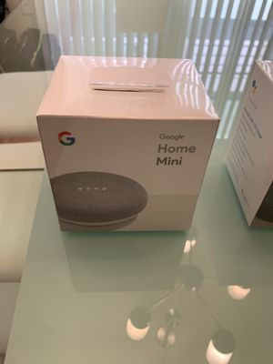 GOOGLE HOME MINI ( 2 AVAILABLE) & GOOGLE CHROMECAST BRAND NEW IN BOX! for Sale in Los Angeles, CA