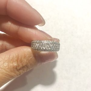 1kt Diamond 14k White Gold Anniversary Band for Sale in Herndon, VA