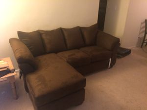 Smaller selectional couch for Sale in Modesto, CA