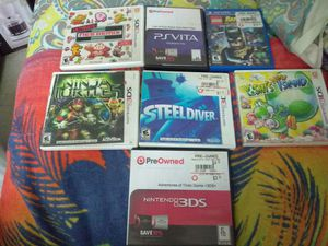 Assorted PS Vita and Nintendo 3DS games for Sale in Philadelphia, PA